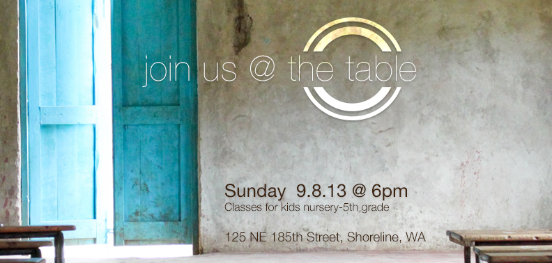 Join Us @ The Table
